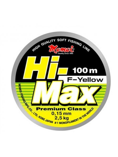 Леска MOMOI Hi-Max F-Yellow