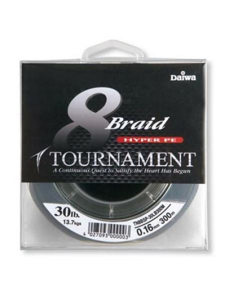 Плетеный шнур Daiwa Tournament 8xBraid (темно-зеленый)