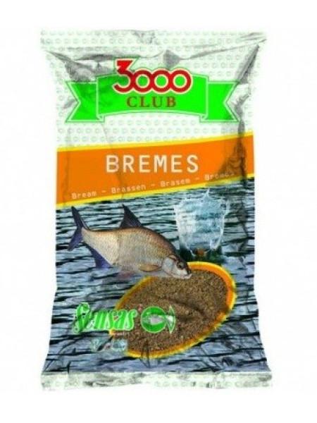 Прикормка Sensas 3000 CLUB Bremes Brun