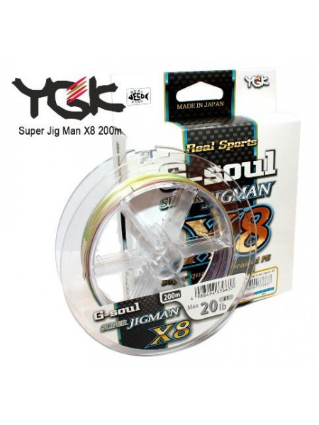 Плетеный шнур YGK Super Jig Man X8 200м