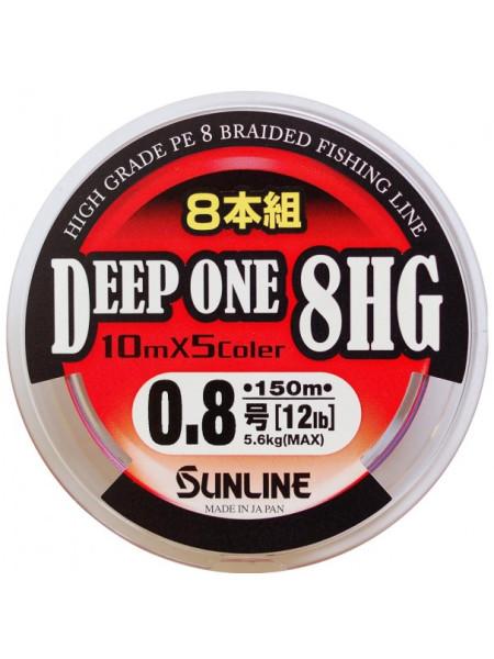 Плетеный шнур Sunline Deep One HG