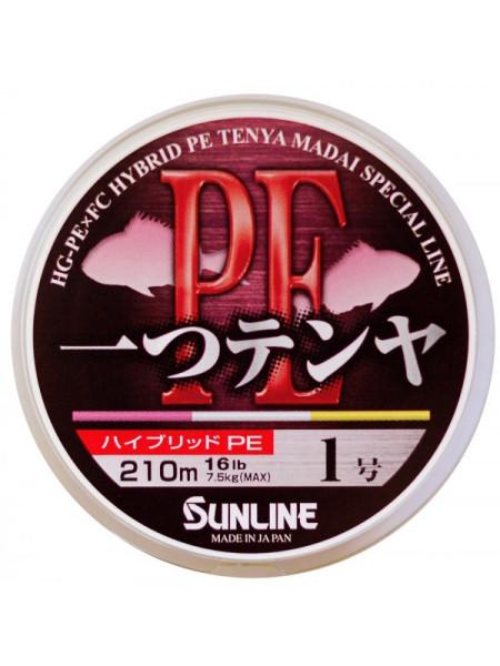 Плетеный шнур Sunline Hitotsu Tenya PE