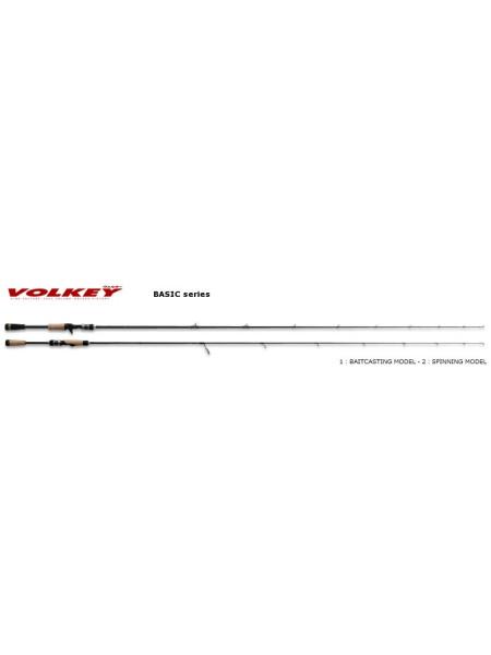 Спиннинги Major Craft Volkey (Basic Series) VKS-602L 1,75-7гр.