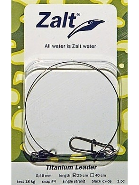 Поводки Zalt Titanium