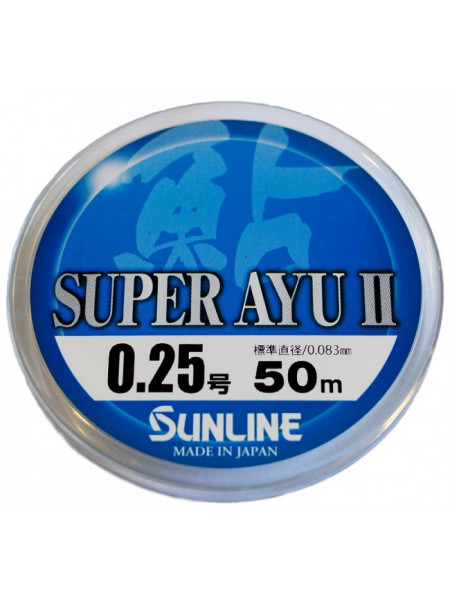 Леска Sunline Super Ayu II