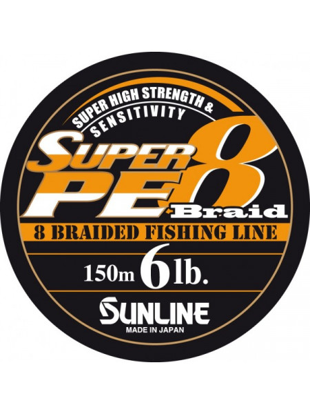 Плетеный шнур Sunline Super PE 8 Braid