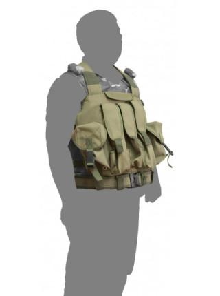 Жилет тактический Armpolis РЗ-2. Разгрузочный нагрудник РПК.
