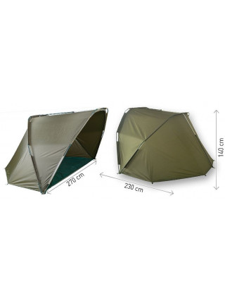 Палатка карповая Carp Zoom FANATIC Shelter