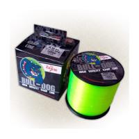 Леска карповая Carp Zoom Bull-Dog Carp Line 1000m, 0,28mm (флуоресцентная-салатовая)