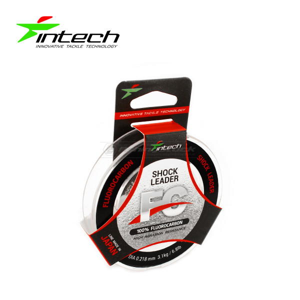 Флюорокарбон Intech FC Shock Leader 10м #0,218мм