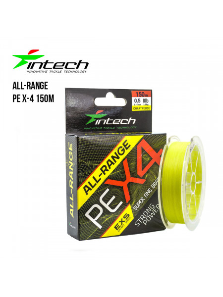 Шнур плетеный Intech All-Range PE X-4 150m