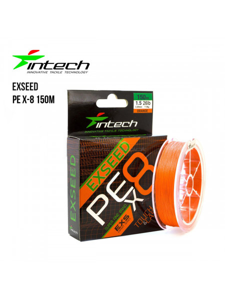 Плетеный шнур Intech Exseed PE X-8 150м