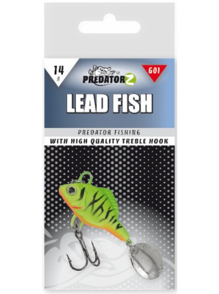Тейл-спиннер Predator-Z Lead Fish