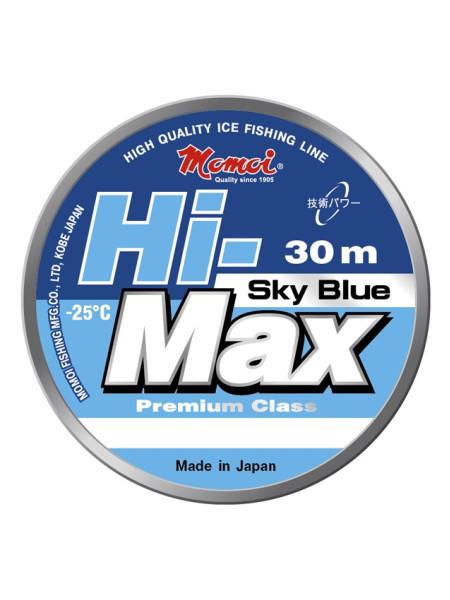 Зимняя леска MOMOI Hi-Max Sky Blue 30м #0,12мм