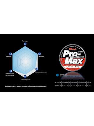 Зимняя леска MOMOI Pro-Max Prestige 30м #0,117мм
