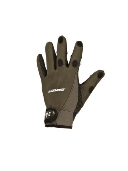 Перчатки DAM Fighter Pro Neopren с отстегными пальцами 2мм неопрен L