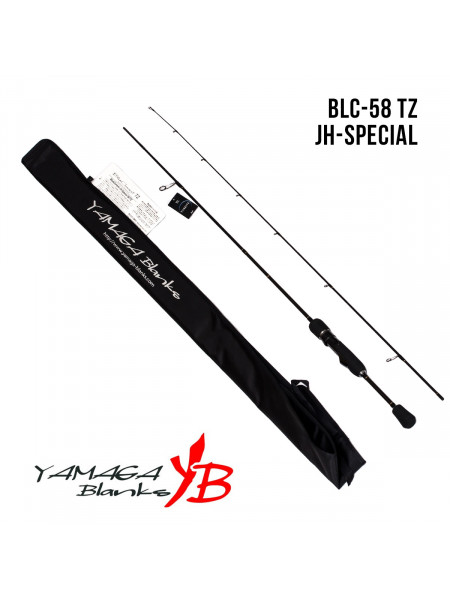 Спиннинги Yamaga Blanks Blue Current TZ BLC-58/Tz JH-Special