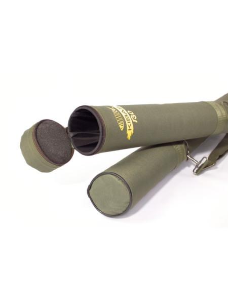 Тубус для удилищ жесткий KIBAS 130x7,5