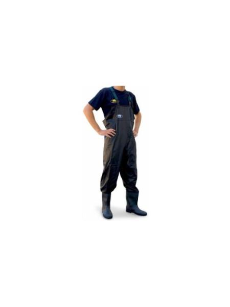Заброды (Вейдерсы) Lineaeffe PVC черные