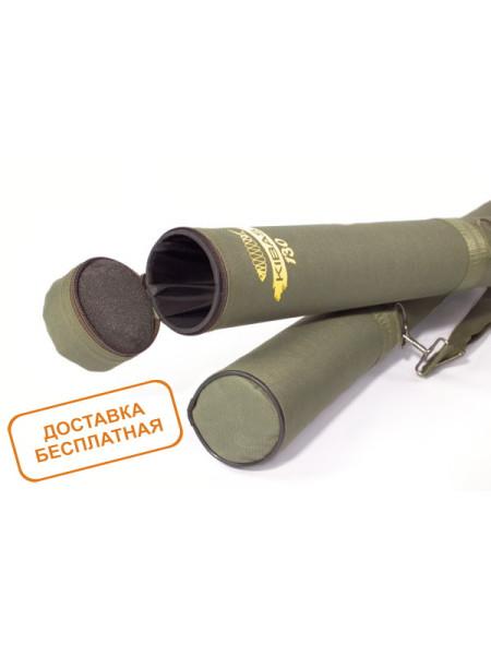 Тубус для удилищ жесткий KIBAS 130x9