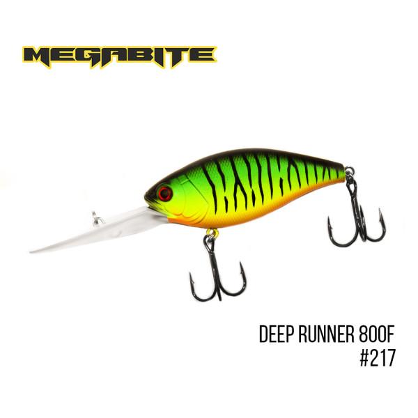 Воблер Megabite Deep Runner 800F #217