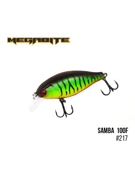 Воблер Megabite Samba 100 F (60 mm, 12,5 g, 1 m) (217)