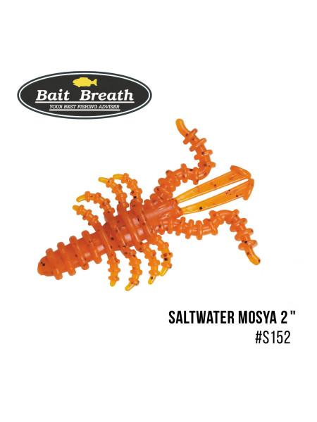 """Приманка Bait Breath Saltwater Mosya 2"""" (10 шт.) (S152 Orange/red)"""