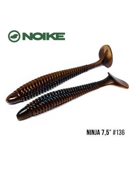 "Приманка Noike NINJA 7,5"" (2шт) (#136 Cinnamon blue back )"