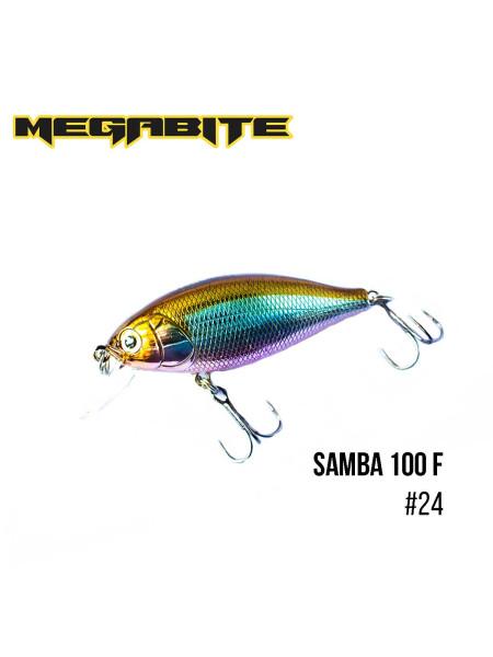 Воблер Megabite Samba 100 F (60 mm, 12,5 g, 1 m) (24)