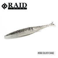 "Приманка Raid Fantastick 5.8"" (5шт.) (066 Silver Shad)"