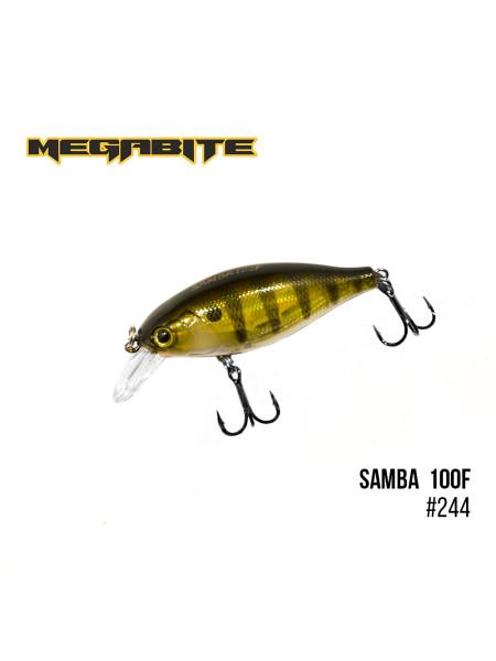 Воблер Megabite Samba 100 F (60 mm, 12,5 g, 1 m) (244)