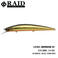 """.Воблер Raid Level Minnow (125mm, 14g) (004 Real Kinkuro)"