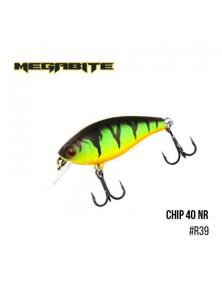 Воблер Megabite Chip 40 F MR (40 мм, 3,75 гр, 1,0 m) (R39)