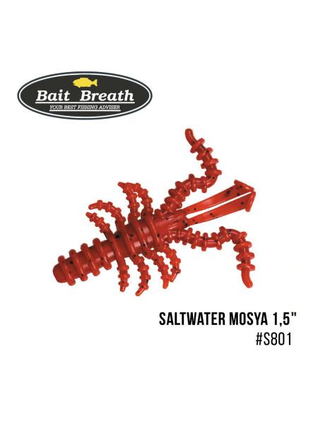 "Приманка Bait Breath Saltwater Mosya 1,5"" (14 шт.) (S801  Red/seed)"