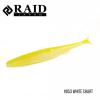 "Приманка Raid Fantastick 5.8"" (5шт.) (053 White Chart)"