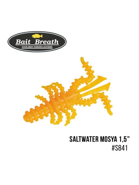 """Приманка Bait Breath Saltwater Mosya 1,5"""" (14 шт.) (S841 Mango yellow)"""