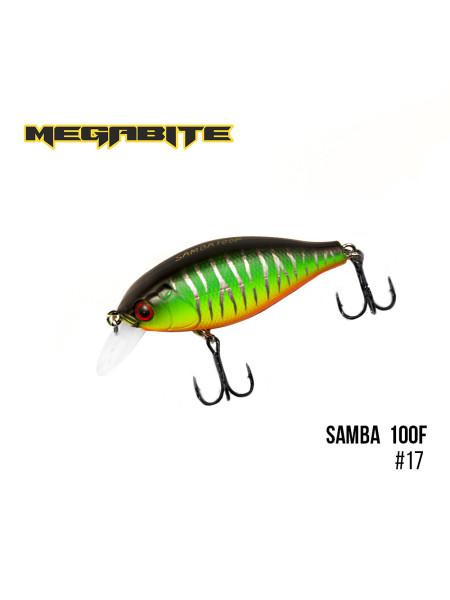 Воблер Megabite Samba 100 F (60 mm, 12,5 g, 1 m) (17)