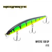 """.Воблер Megabite Mystic 130 SP (130 мм, 18,4 гр, 0,5 m) (R39)"