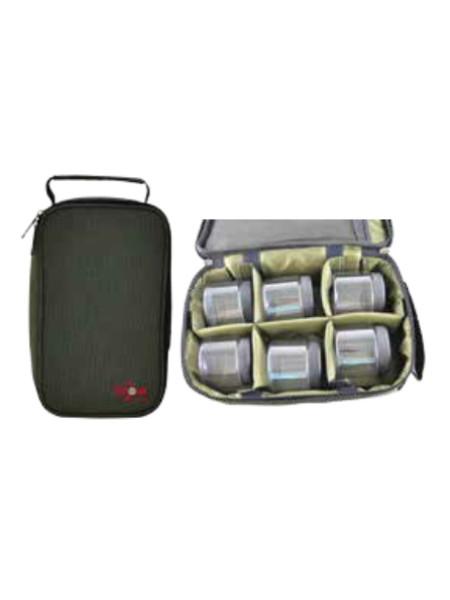 Сумка для насадок и дипов,в комплекте 6 банок Dip Bag, (29x17x8cm)