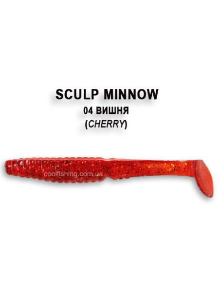 Съедобный силикон Crazy Fish Scalp Minnow 8см