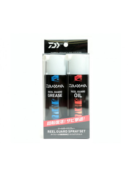 Смазка Daiwa Reel Guard Spray Set комплект