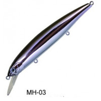 Воблер Bassday Mogul Minnow 110SP MH-03 Metal Wakasagi
