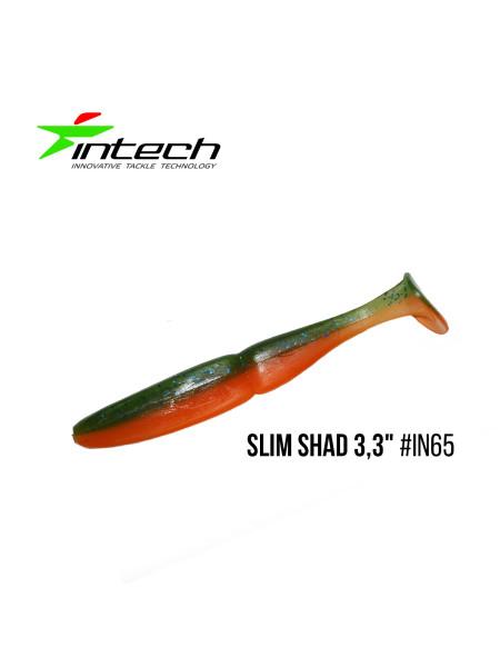 "Приманка Intech Slim Shad 3,3""(7 шт) (IN65)"